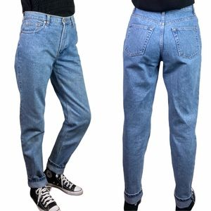 Vintage Gap High Rise Mom Jeans Slim Straight Fit